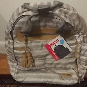 Skip Hop brand diaper bag  river side backpack